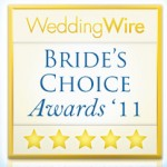 lovestoryproduction wins Brides Choice Award from Wedding Wire 2011